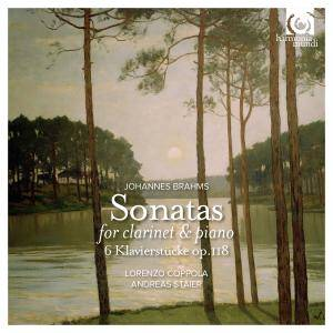 Lorenzo Coppola & Andreas Staier - Brahms: Sonatas for Clarinet and Piano, Op. 120 (2015) [Official Digital Download 24/96]