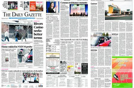 The Daily Gazette – March 28, 2018