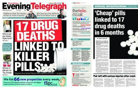 Evening Telegraph First Edition – October 02, 2017