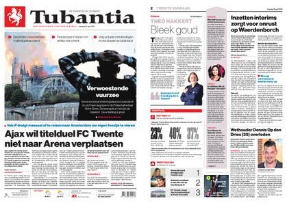 Tubantia - Enschede – 16 april 2019