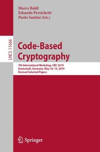 Code-Based Cryptography