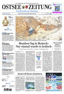 Ostsee Zeitung Wolgast - 28. März 2019