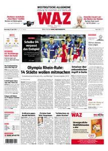 WAZ Westdeutsche Allgemeine Zeitung Oberhausen-Sterkrade - 19. April 2018