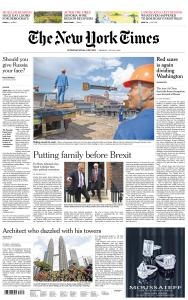 International New York Times - 22 July 2019