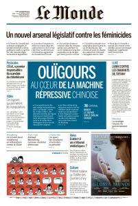 Le Monde du Mardi 26 Novembre 2019
