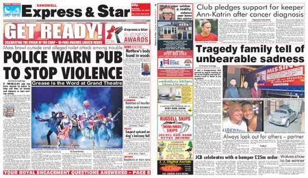 Express and Star Sandwell Edition – November 28, 2017