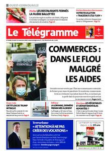 Le Télégramme Ouest Cornouaille – 14 novembre 2020