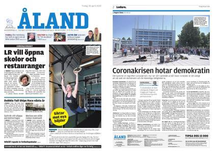 Ålandstidningen – 28 april 2020