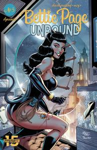 Bettie Page-Unbound 005 2019 5 covers Digital DR & Quinch
