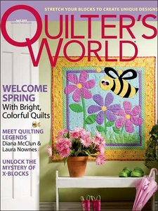 Quilter's World - April 2008