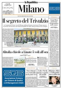 la Repubblica Milano - 10 Luglio 2020