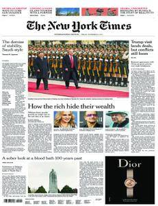 International New York Times - 10 November 2017