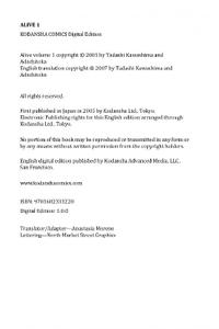 Kodansha-Alive 1 2021 Hybrid Comic eBook