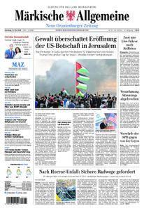 Neue Oranienburger Zeitung - 15. Mai 2018