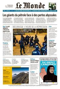 Le Monde du Mercredi 12 Août 2020
