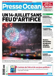 Presse Océan Nantes Sud Vignoble – 13 juillet 2020