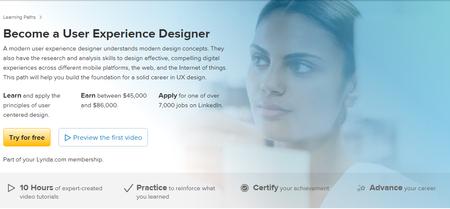 Lynda - Become a User Experience Designer