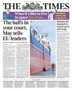 The Times - 9 October 2017