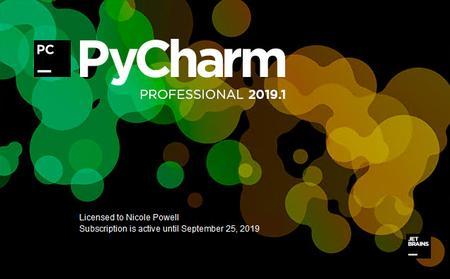 JetBrains PyCharm Professional 2019.1.2 macOS