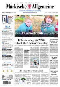 Neue Oranienburger Zeitung - 17. September 2018