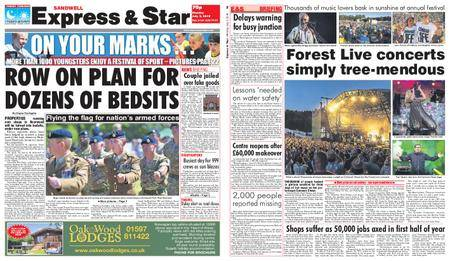 Express and Star Sandwell Edition – July 02, 2018