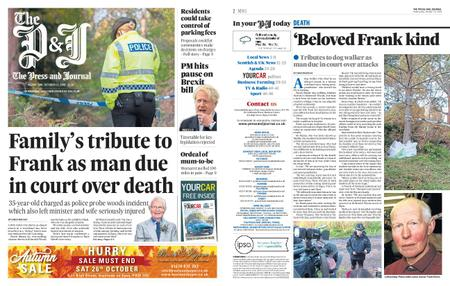 The Press and Journal Moray – October 23, 2019