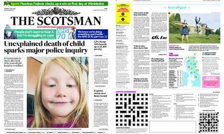 The Scotsman – July 03, 2018
