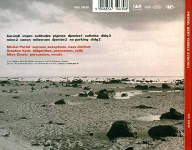 Michel Portal, Stephen Kent, Mino Cinelu - Burundi (2000) {PAO Records}