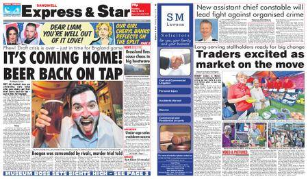 Express and Star Sandwell Edition – July 03, 2018