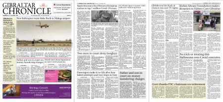 Gibraltar Chronicle – 22 October 2020