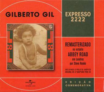 Gilberto Gil - Expresso 2222 (1972) 40th Anniversary Special Edition, Remastered Reissue 2012