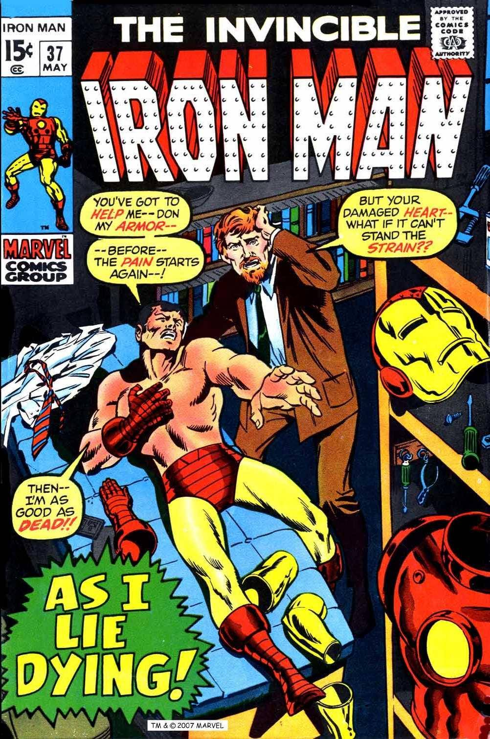 For PostalPops - Iron Man v1 037 Complete Marvel Collection cbz