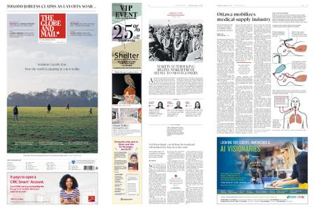 The Globe and Mail – March 21, 2020