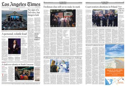 Los Angeles Times – October 23, 2020
