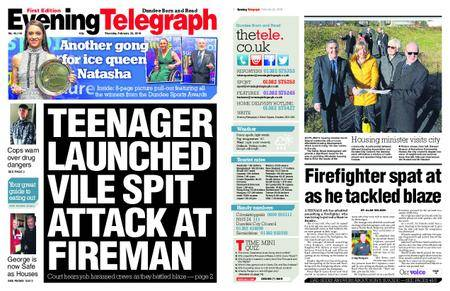 Evening Telegraph First Edition – February 22, 2018