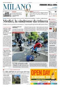 Corriere della Sera Milano – 26 novembre 2020