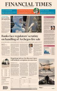 Financial Times Europe - March 31, 2021