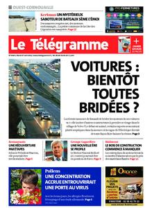 Le Télégramme Ouest Cornouaille – 27 avril 2021