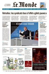 Le Monde du Mercredi 4 Décembre 2019
