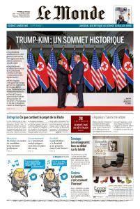 Le Monde du Mercredi 13 Juin 2018