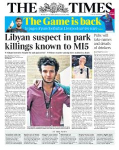 The Times - 22 June 2020