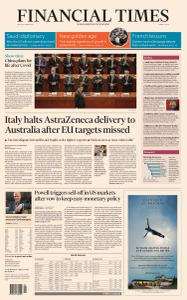 Financial Times Middle East - March 5, 2021