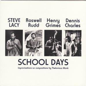 Steve Lacy - School Days (1960-1963) {Emanem 5016 rel 2011}