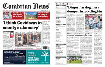 Cambrian News Machynlleth & Llanidloes – 23 July 2020