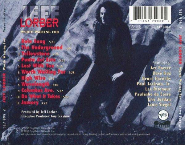 Jeff Lorber - Worth Waiting For (1993) {Verve}