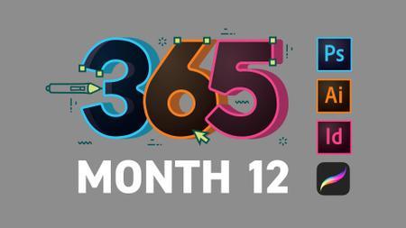 SkillShare - 365 Days Of Creativity (Month 1-12)
