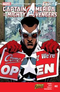 AXIS series 3867 030 Captain America and the Mighty Avengers 002 2015 Digital Zone