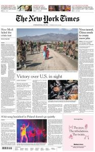 International New York Times - 28 May 2020