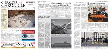 Gibraltar Chronicle – 09 March 2021