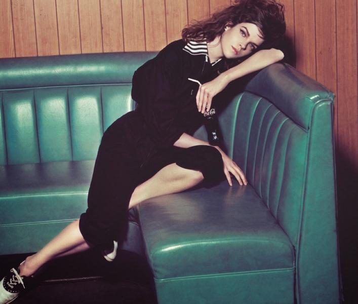 Meghan Collison by Sofia Sanchez Mauro Mongiello for Numéro #158 November 2014
